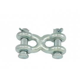 Double Clevis Links - Zinc Plated - Grade 40