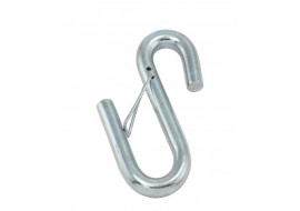 Trailer Safety Chain S-Hooks Heat Treated - Zinc Plated